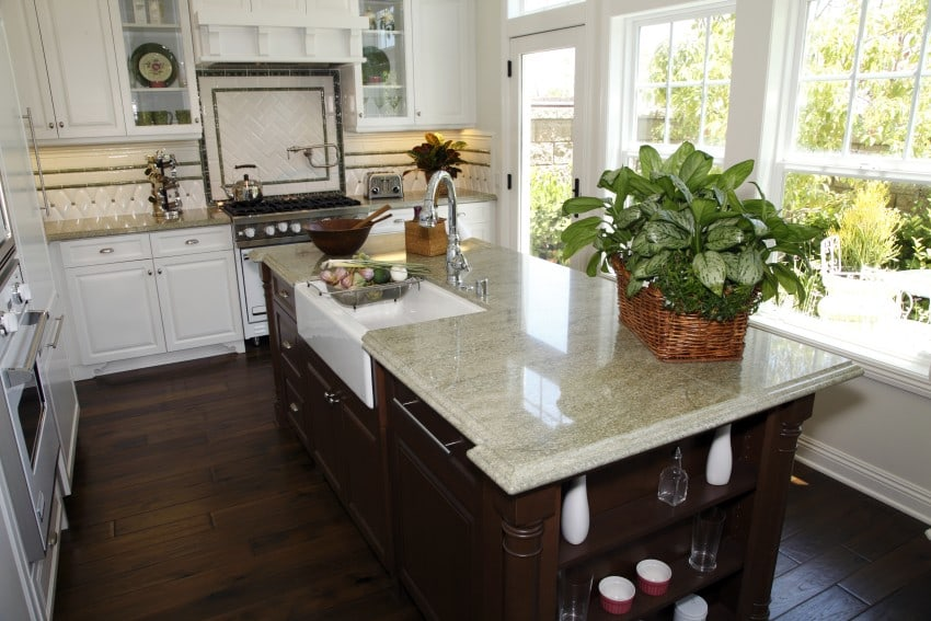 11 different types of kitchen countertops buying guide cost estimates. Black Bedroom Furniture Sets. Home Design Ideas