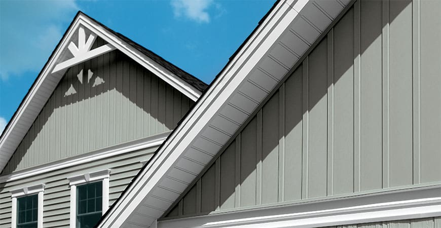 Vinyl siding companies and contractors near you free quote for Vertical siding options