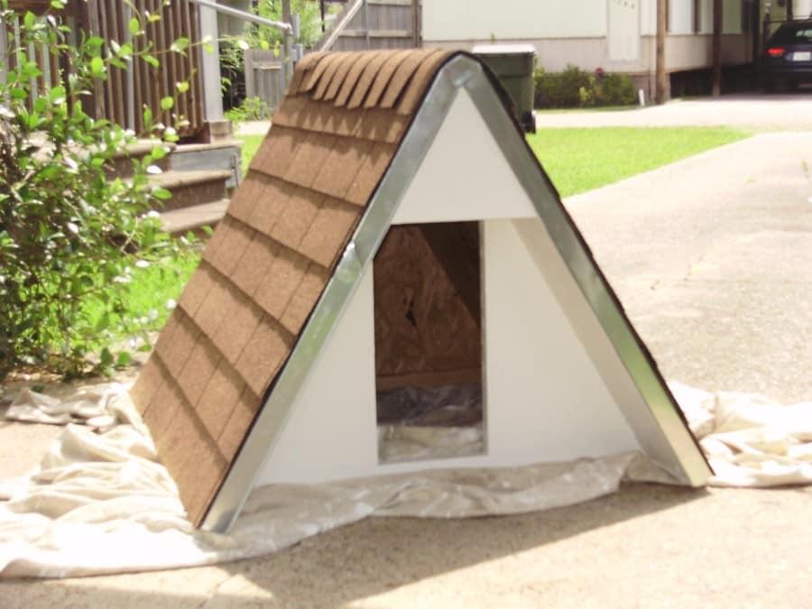 A-style dog house
