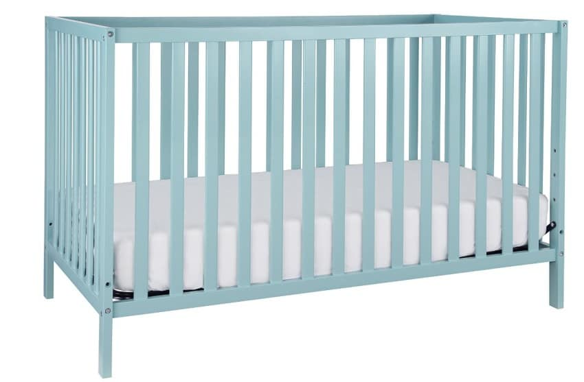 Union 2-in-1 Convertible Crib, Lagoon Finish