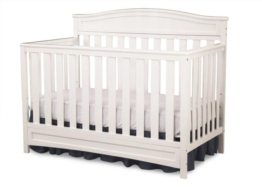 Delta Children Emery 4-in-1 Crib, White