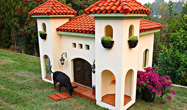 30 Awesome Dog House DIY Ideas Indoor Outdoor Design PHOTOS on dog kennel designs for two dogs, dog houses for multiple dogs, dog houses for big dogs, mutiple dog house dogs, large dog houses for two dogs, dog house kits for two dogs, building a dog house for two dogs, insulated dog houses for two dogs, double dog houses for large dogs, dog house for dogs 3,