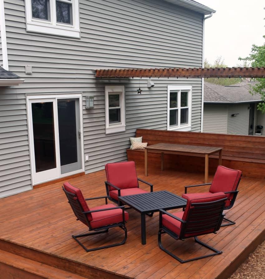 21 Wooden Deck Design Ideas For Your Home (Photos)
