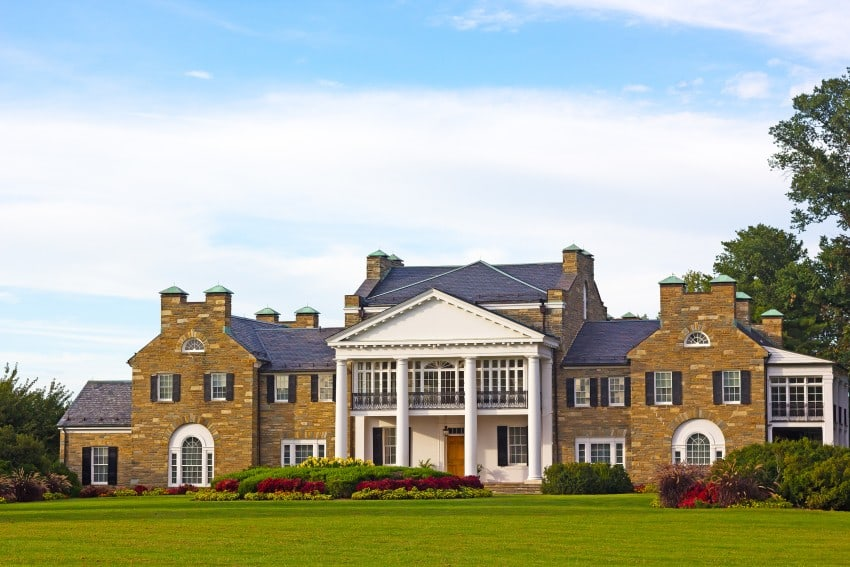 23 Beautiful Big House Mansion Pictures