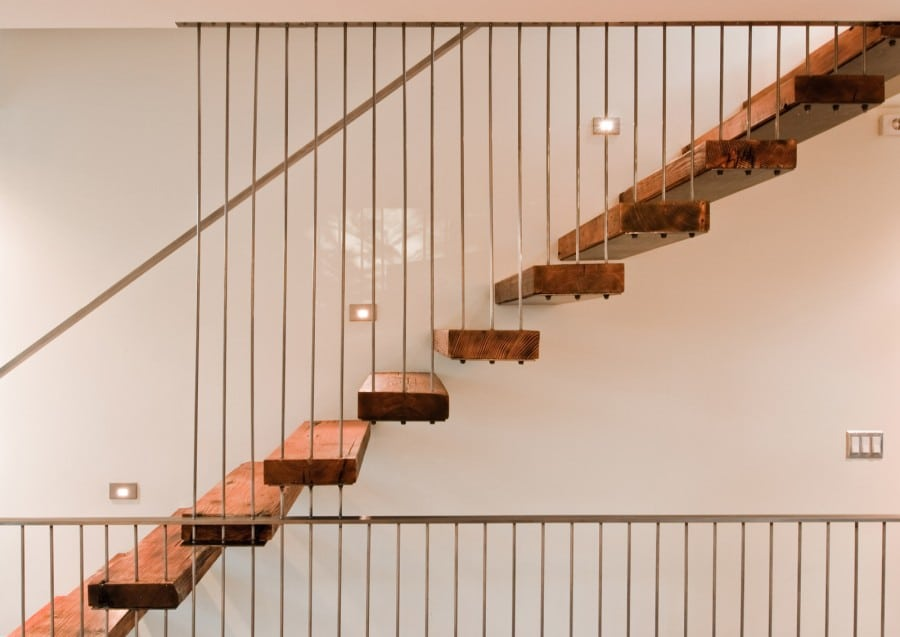 25 Custom Wood Stairs And Railings PHOTO GALLERY