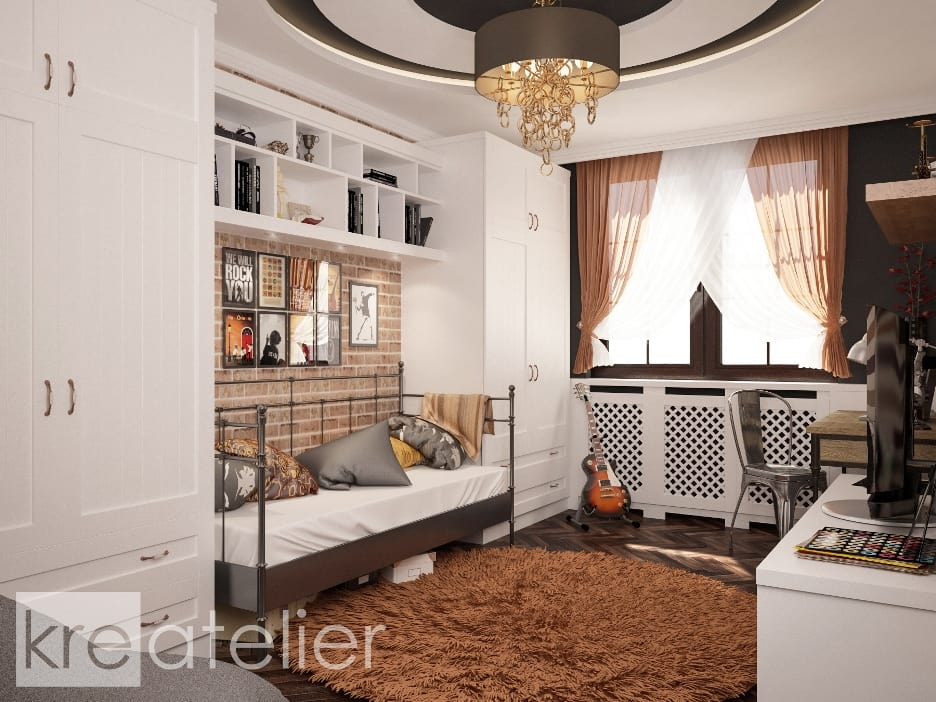 bedroom for teenager