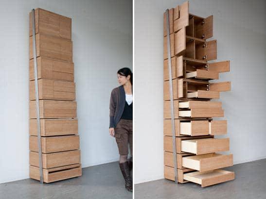 modern storage idea
