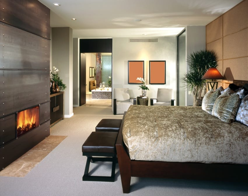 modern style bedroom. modern bedroom shutterstock 118129426 40 Amazing Modern Style Interior Design Ideas  PHOTOS