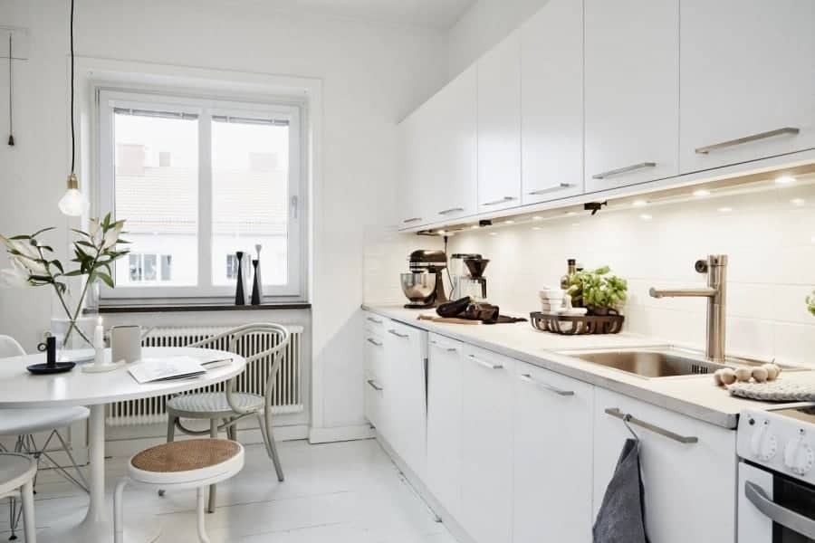 40 amazing modern style interior design ideas photos Scandinavian kitchen designs