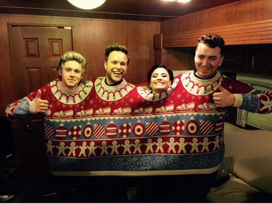 ugly sweater for 4 people