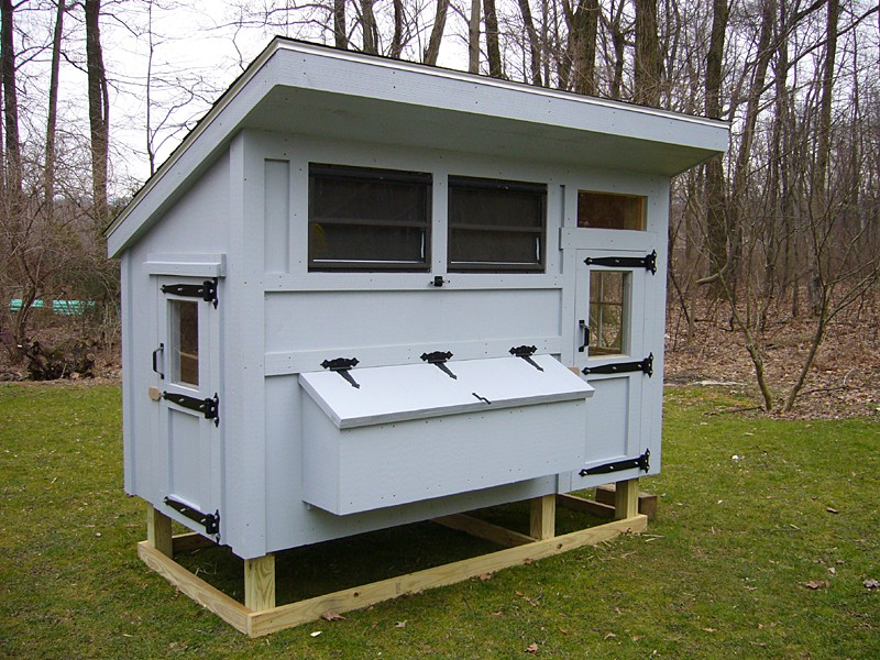 chickencoop 8001 20 - Chicken Coop Design Ideas
