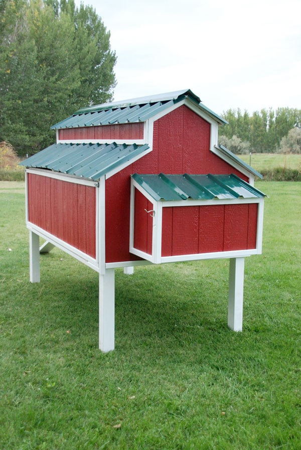 30 awesome custom chicken coop ideas and diy plans photos for Hen house design plans