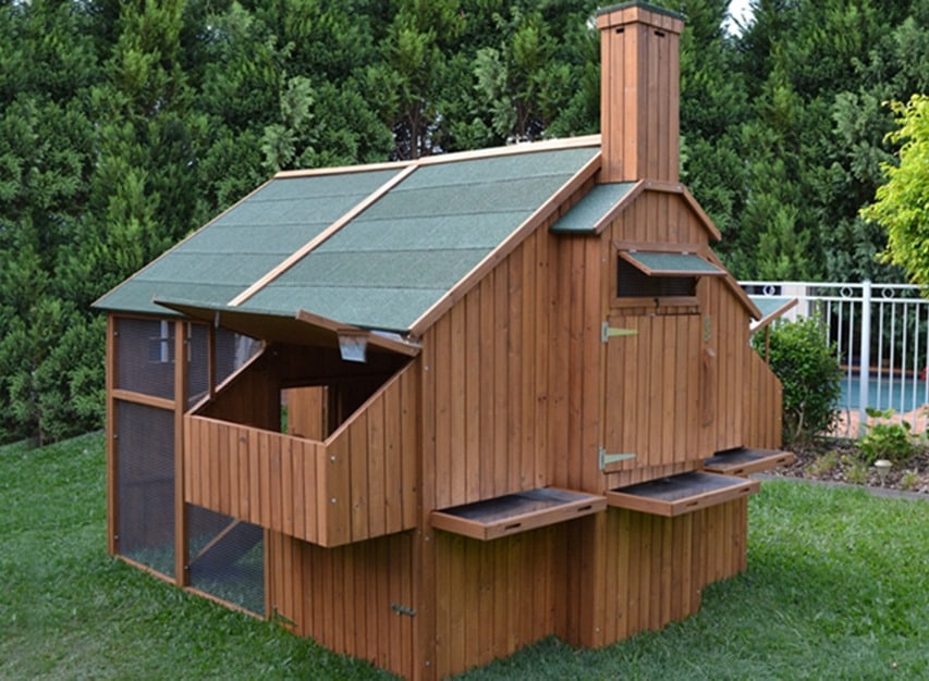 chicken coop mansion