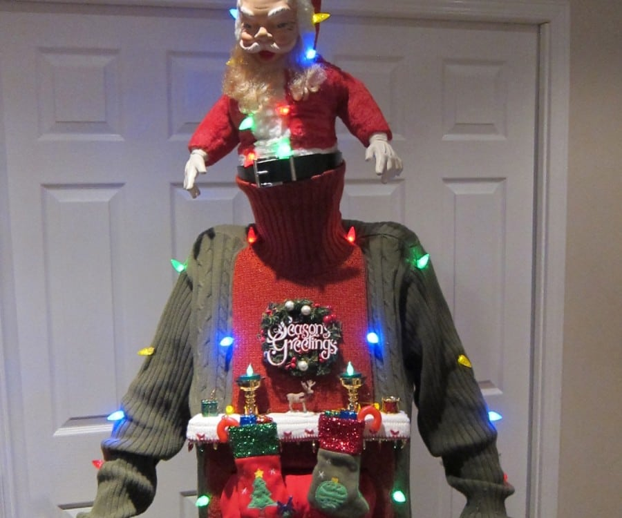 30 DIY Ugly Sweater Ideas for Christmas and Parties