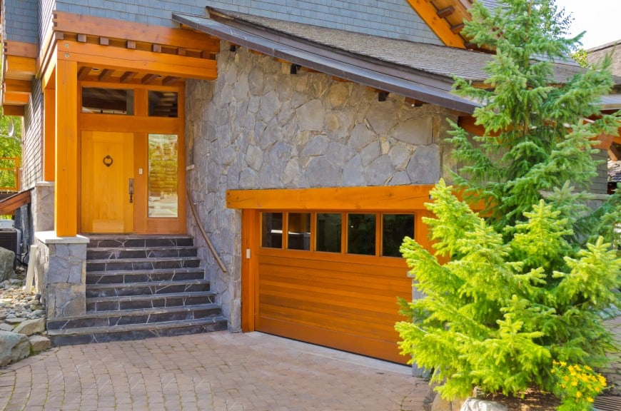 one-car garage door