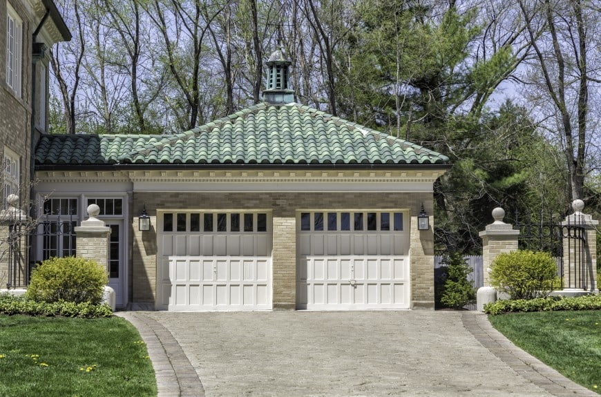 exterior garage design idea