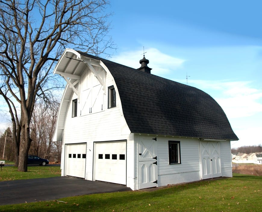 barn-like house