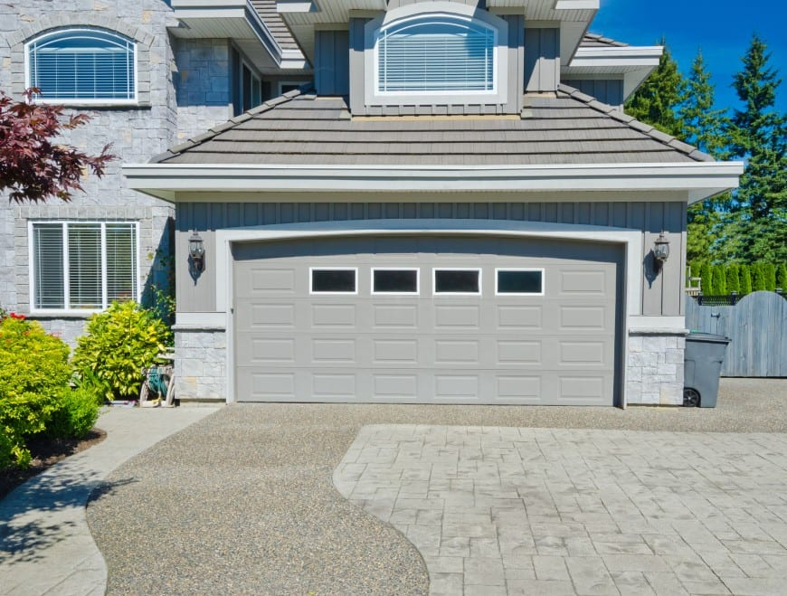 double garage design