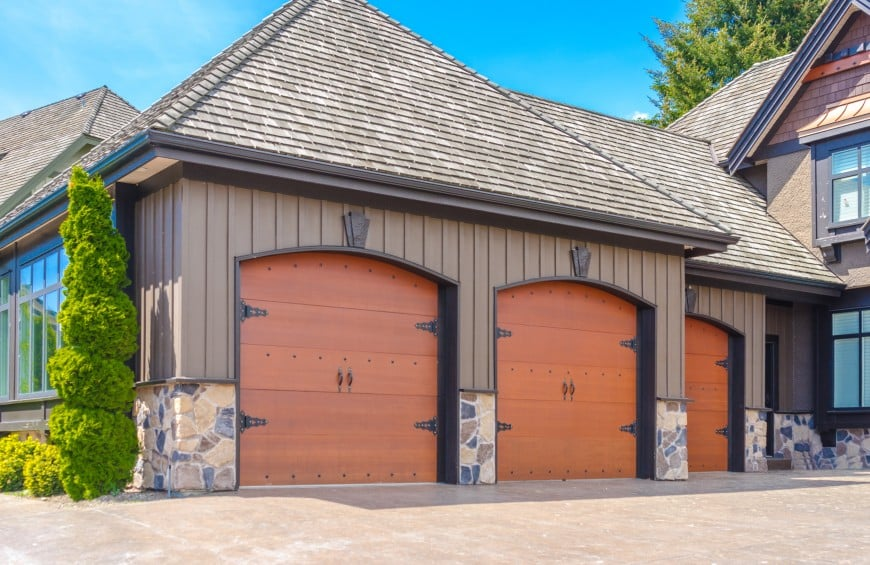 attached garage in house