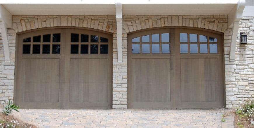 simple garage front design