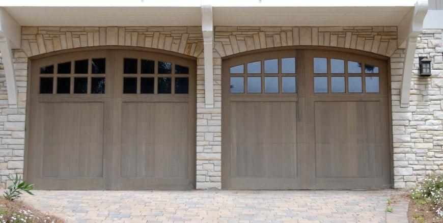 simple garage front design