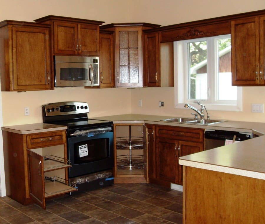 basic kitchen with basic appeal