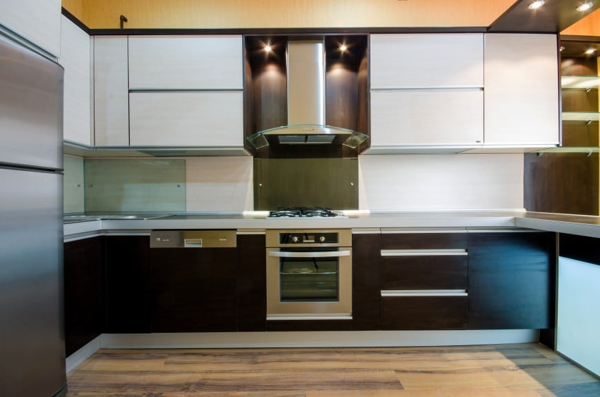modern u kitchen