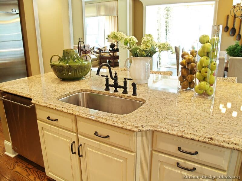 Beige Granite Countertop