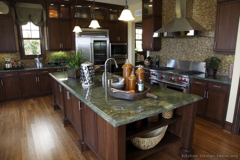 Awesome Different Color Granite Countertops Contemporary Home
