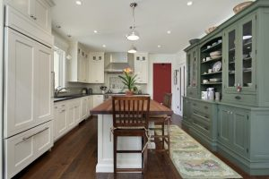 Gray and White Color in Kitchen