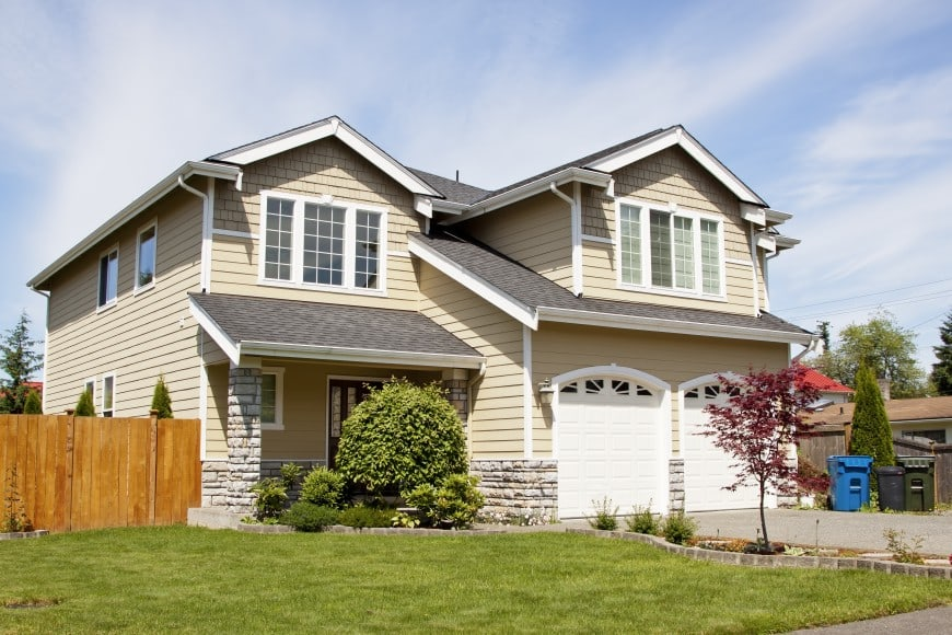 cozy suburban home