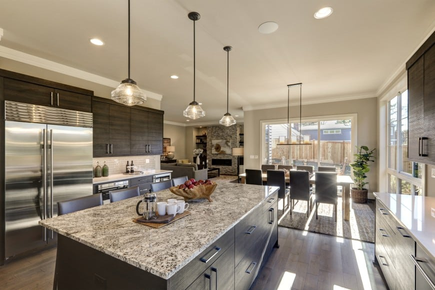 state of the art kitchen that fits right in the interior design