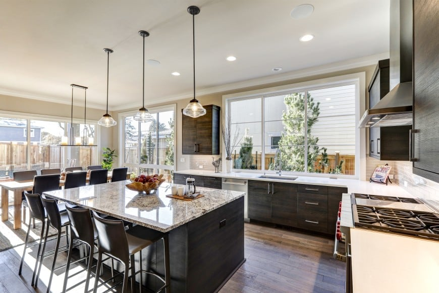 80 Custom Kitchens With Islands Great Design Ideas Images