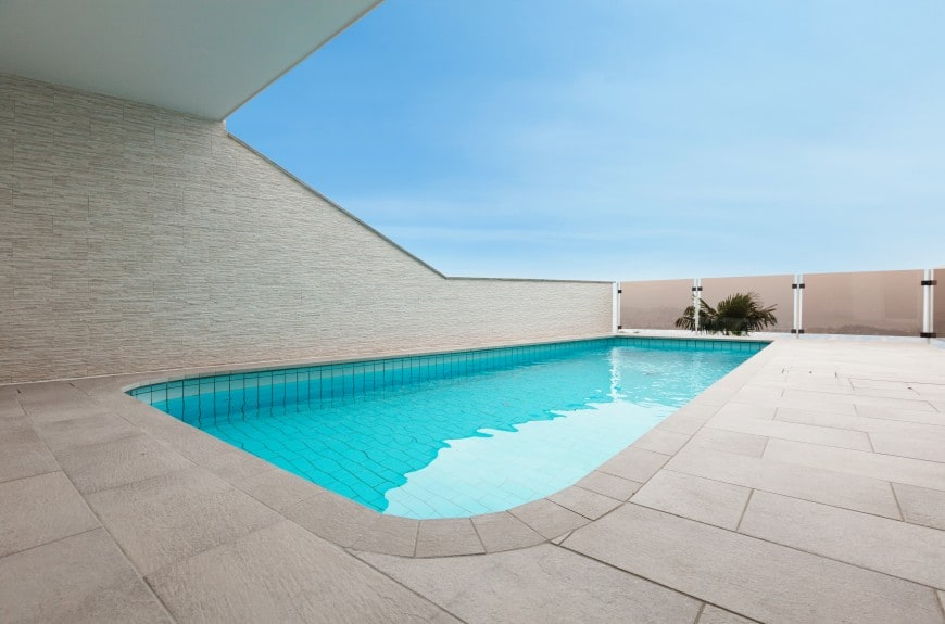 simple private swimming pool design