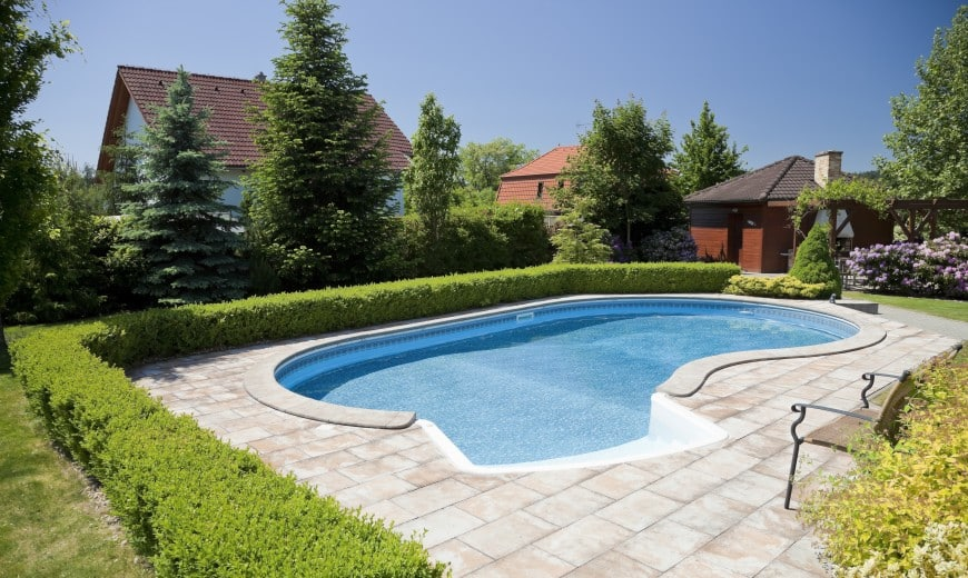 beautiful swimming pool design idea