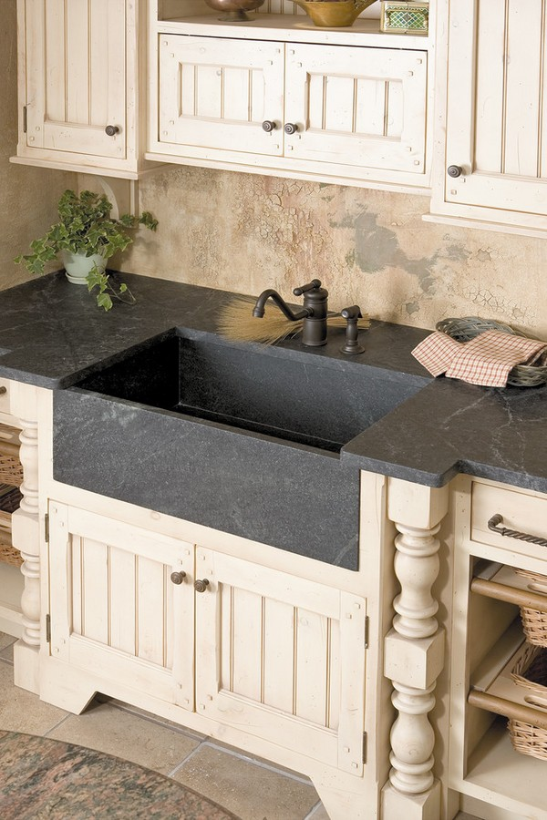 Sink Ideas Rustic Kitchen