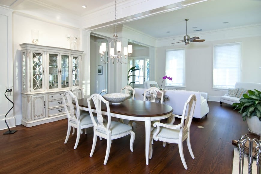traditional design with a touch of modern - transitional design at its finest.
