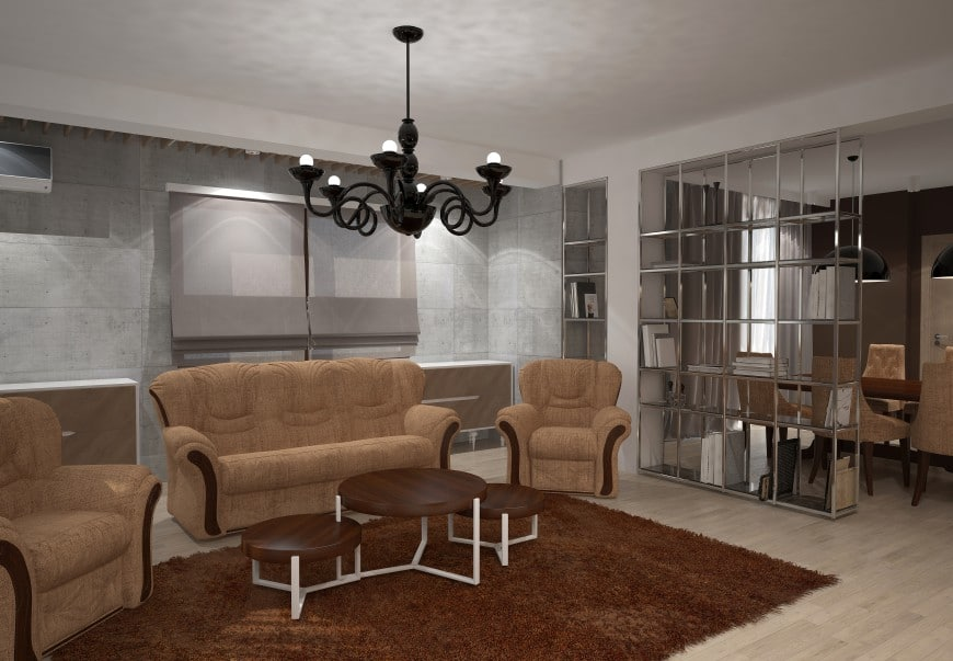 modern living room concept design