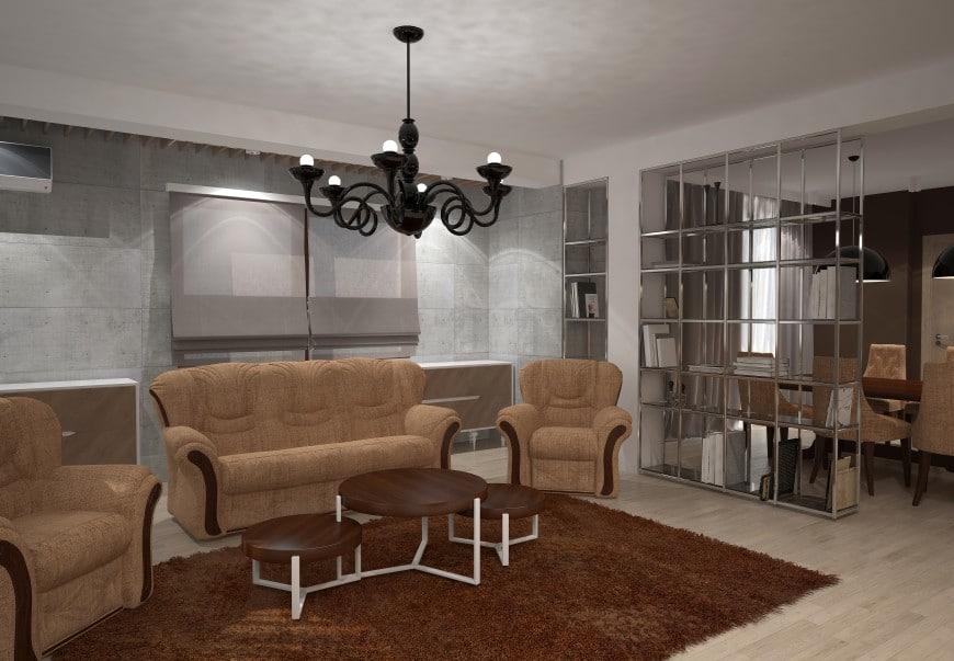 modern living room concept design