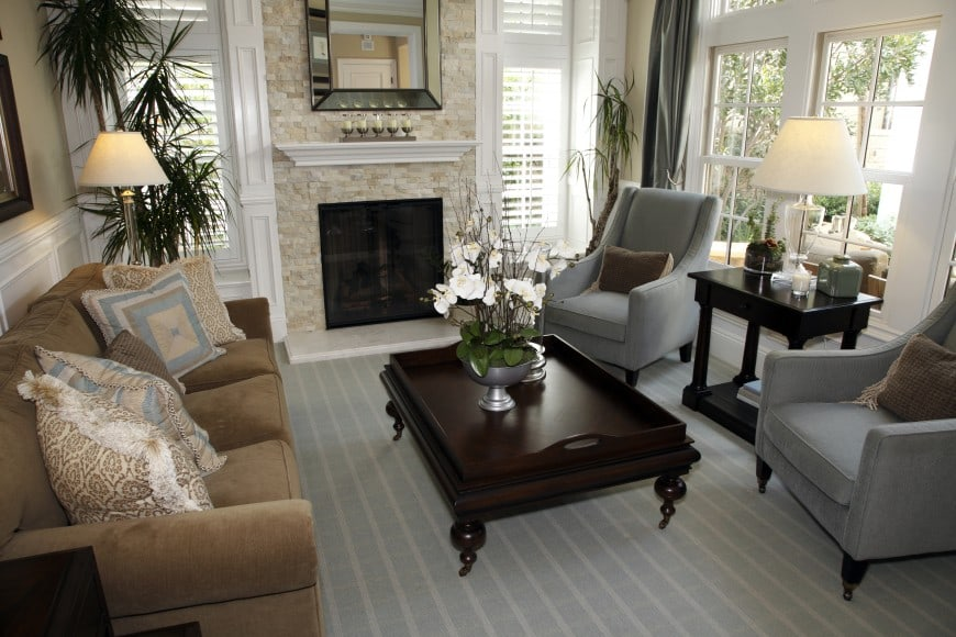 stylish family room