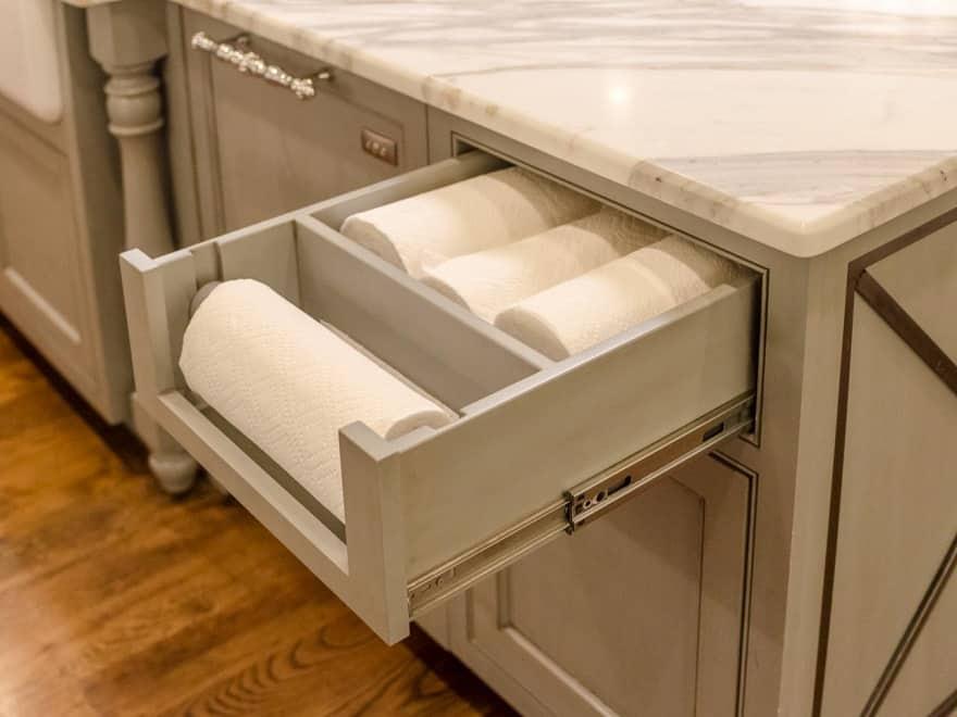 hidden paper towels