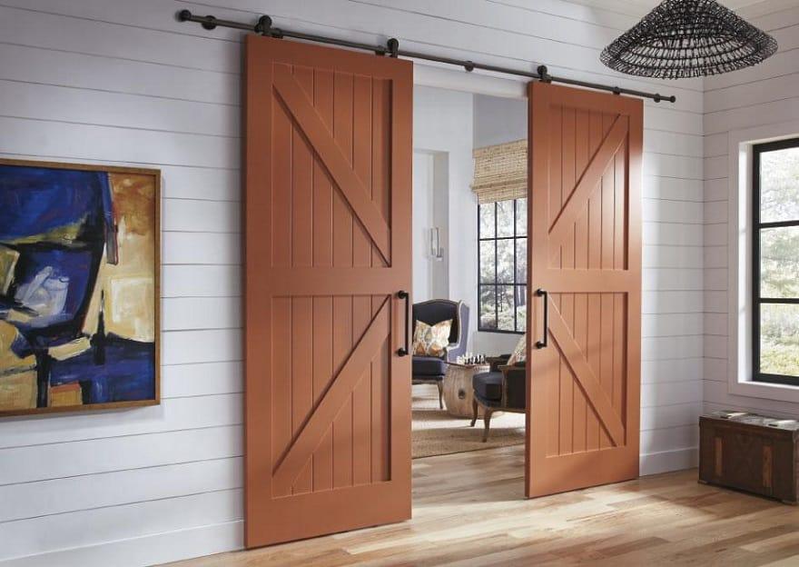 barn door style internal door