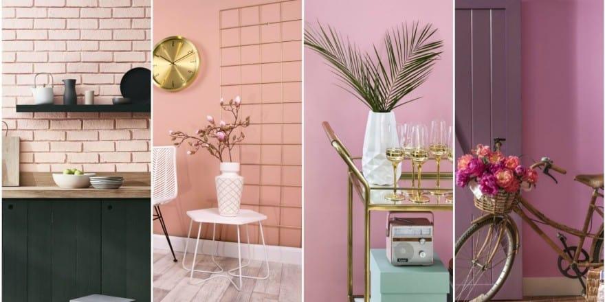 Millennial Pink & Lavender colors