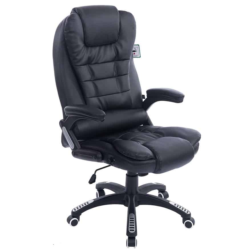 luxury office black chair