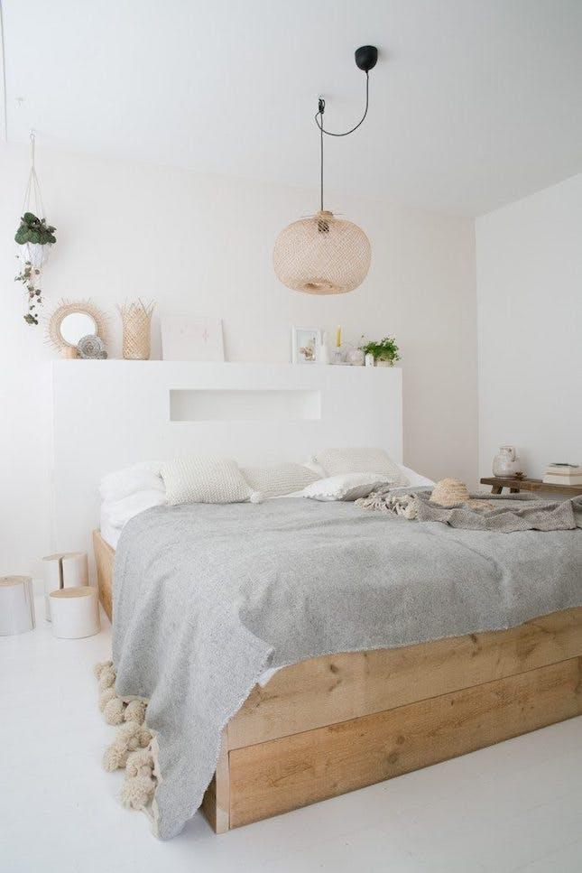 organic material in bedrom