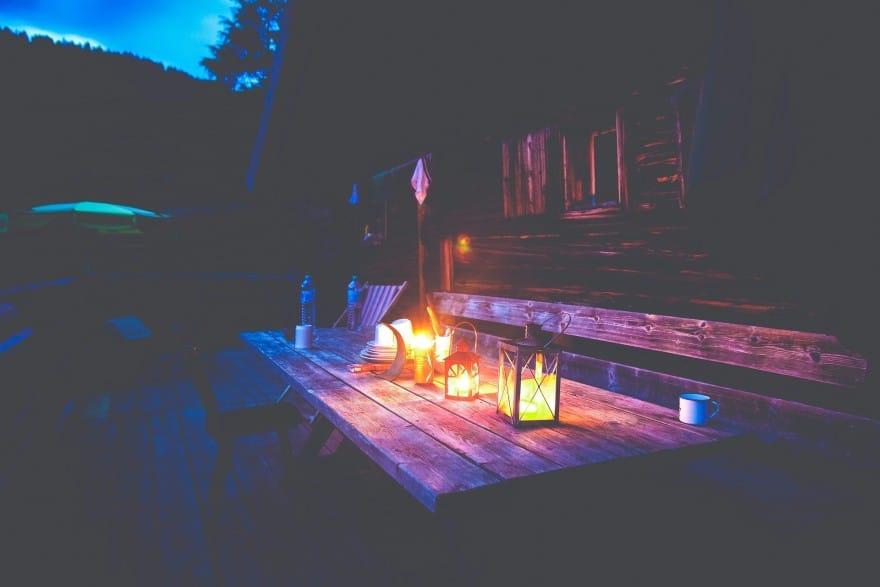 illuminated deck