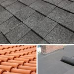 Roof Shingles vs Tiles vs Rolled Roofing - Material Pros-Cons - Prices etc