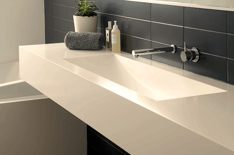 solid surface worktop material