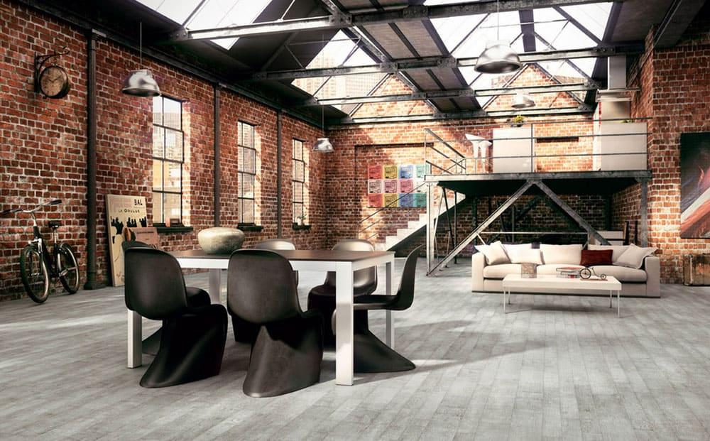 modern industrial room
