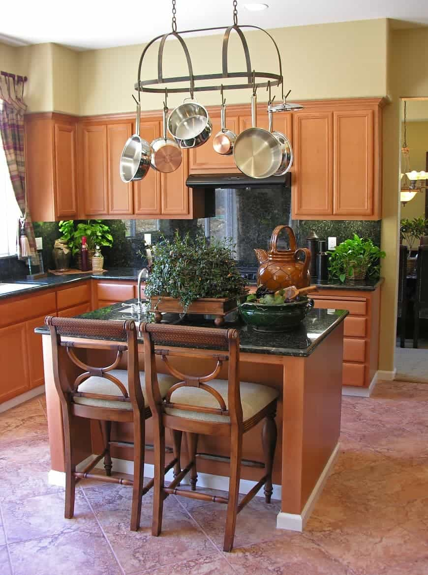beautiful kitchen with island